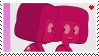 Rubycest Stamp by TRASHYADOPTS