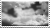 Black and white skies - Stamp by TRASHYADOPTS