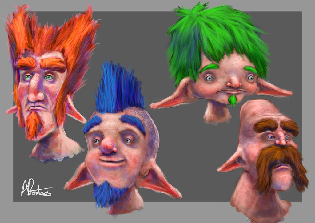 Elf Designs by Alex-Porteous