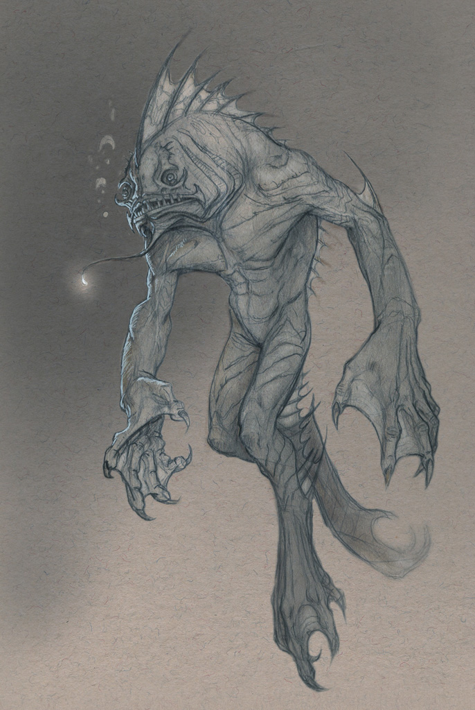 creatureBlackLagoon by Mavros-Thanatos