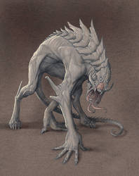 Demon Hound by Mavros-Thanatos