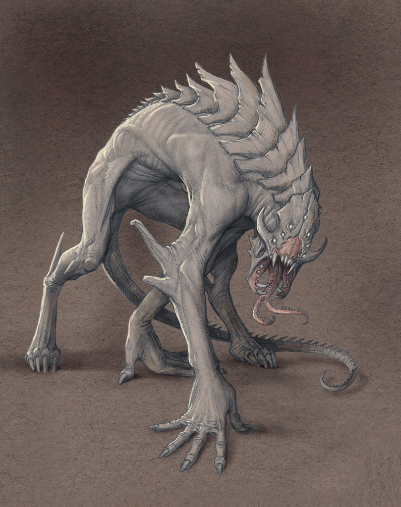 Demon Hound by Mavros-Thanatos