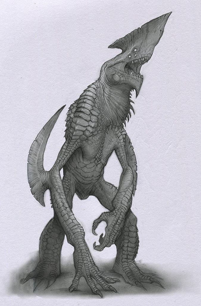 Kaiju by Mavros-Thanatos