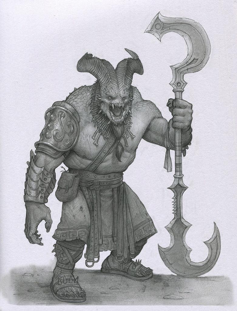 Demon Butcher by Mavros-Thanatos