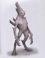 Cave Alien by Mavros-Thanatos