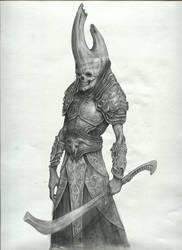 Demon Footsoldier by Mavros-Thanatos