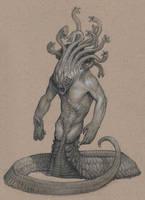 Gorgon by Mavros-Thanatos