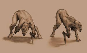 Bladez Poses by Mavros-Thanatos