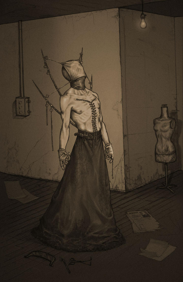 Nightmare Fuel Monsters By Anastasios Gionis By Danlev On