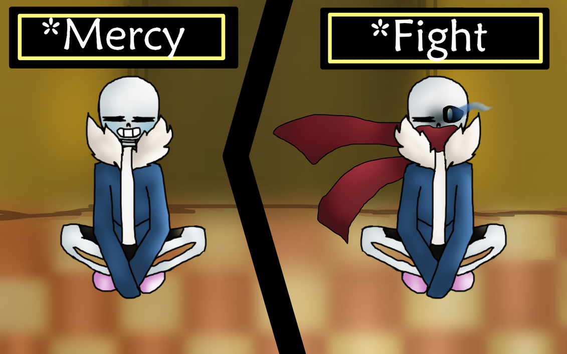 Sans [Which Path?] by ZombieWolfPlays