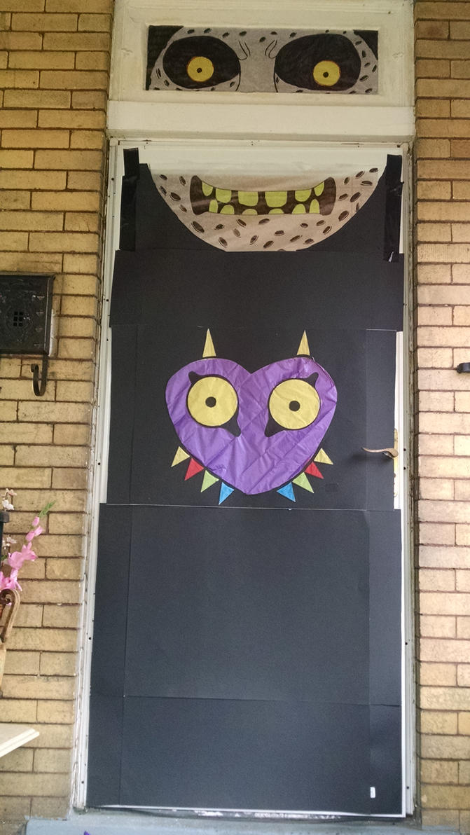 Majora's Mask Halloween 2015 door by Bossilla on DeviantArt