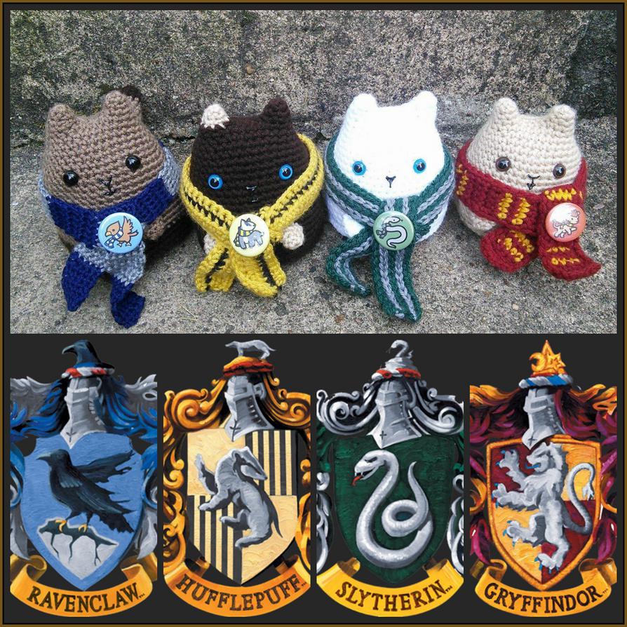 Hogwarts Kitties by VelvetKey