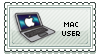 Mac user stamp by Ka-Rei