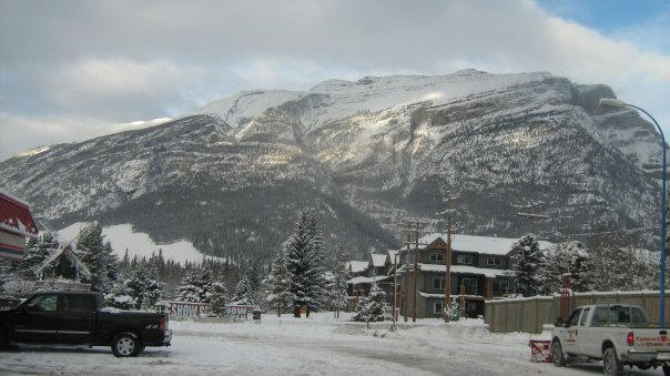 A drive through Canmore
