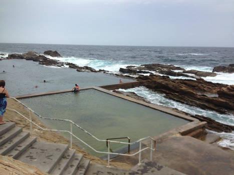 The swimming baths