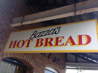 Bazza, a very Aussie sign!