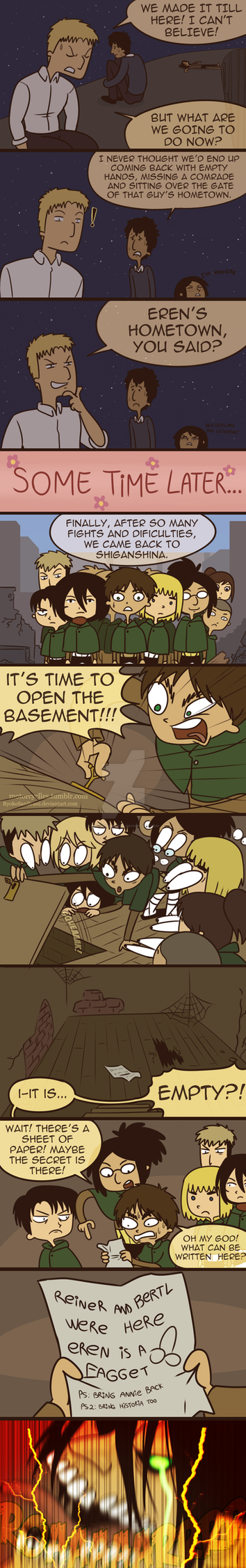 To the basement by RyokoSanBrasil