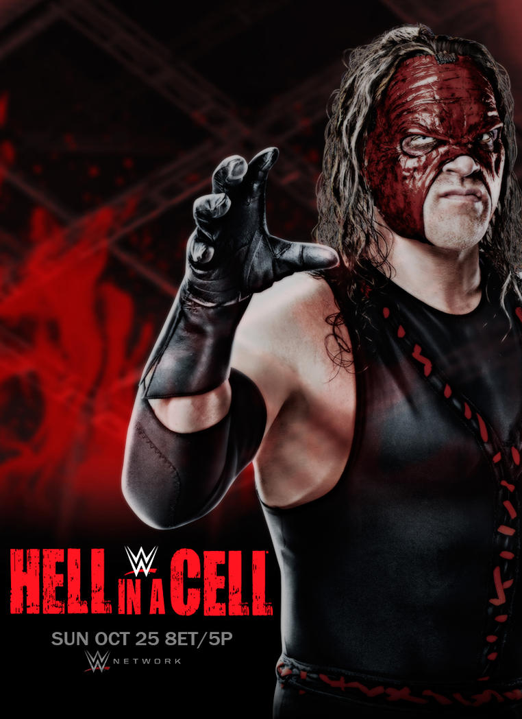 Hell in a Cell 2015 Poster by Vozn1akHero