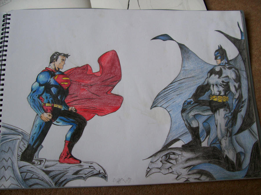 Superman vs Batman by Mr-P-P-Hed