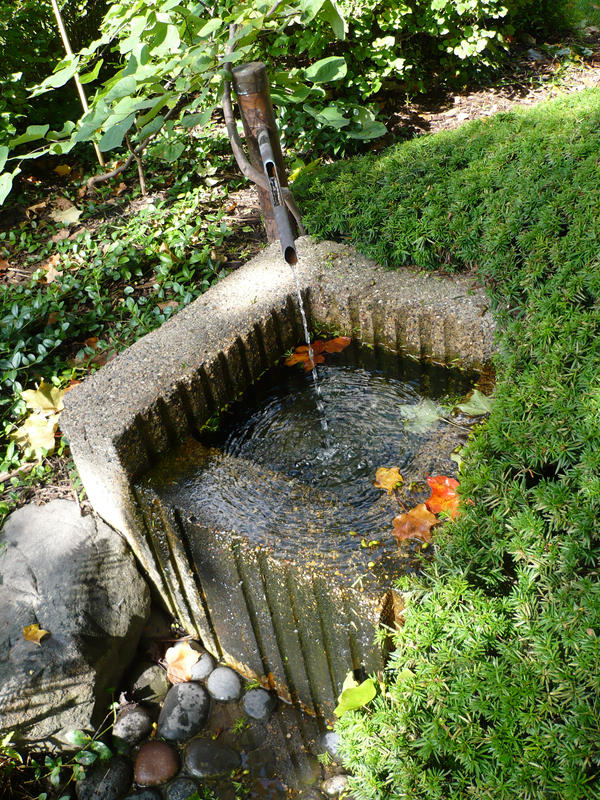 Charmant Fountain: Japanese Garden By Ceruleankangaroo ...