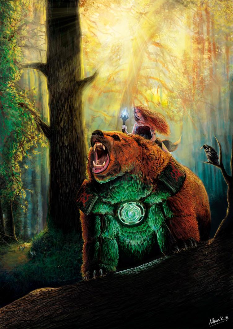 The Bear and the Maiden fair by ArthurRoberto