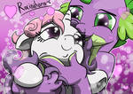 Sweetie Belle and Spike