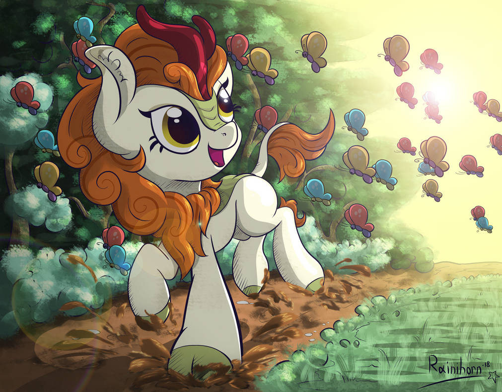 Autumn Blaze by Rainihorn