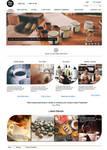 Coffee Shop Web Design