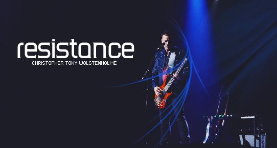 Chris Wolstenholme: Resistance by Wheedles