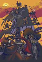 Pirates and Ninjas by anthonysarts
