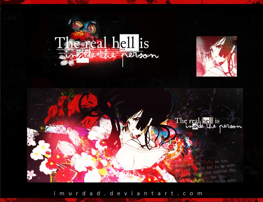 [ TAGWALL ] [ JIGOKU SHOUJO ] The real hell.