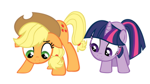 Applejack and Twilight: When will the seeds grow??