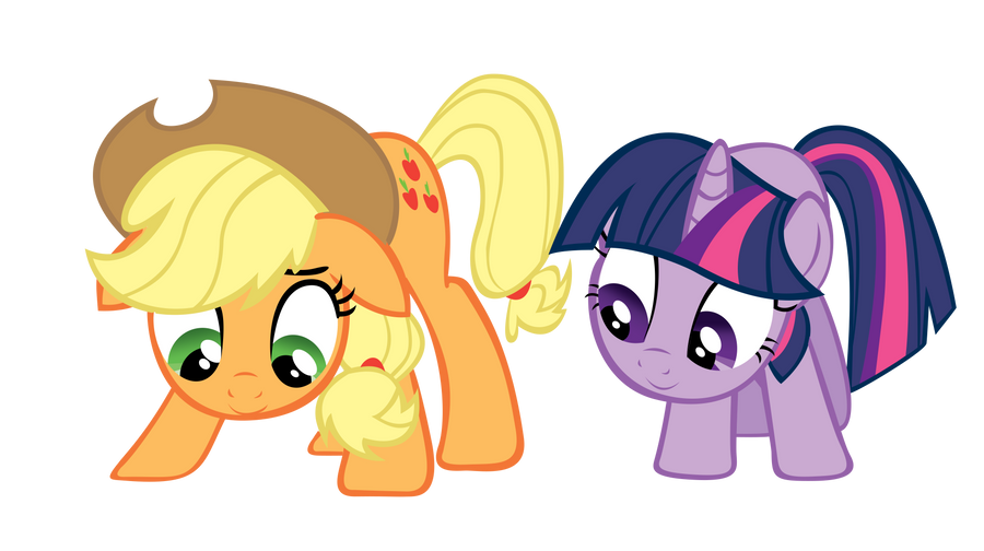 Pide una foto Applejack_and_twilight__when_will_the_seeds_grow___by_richhap-d4g7aul