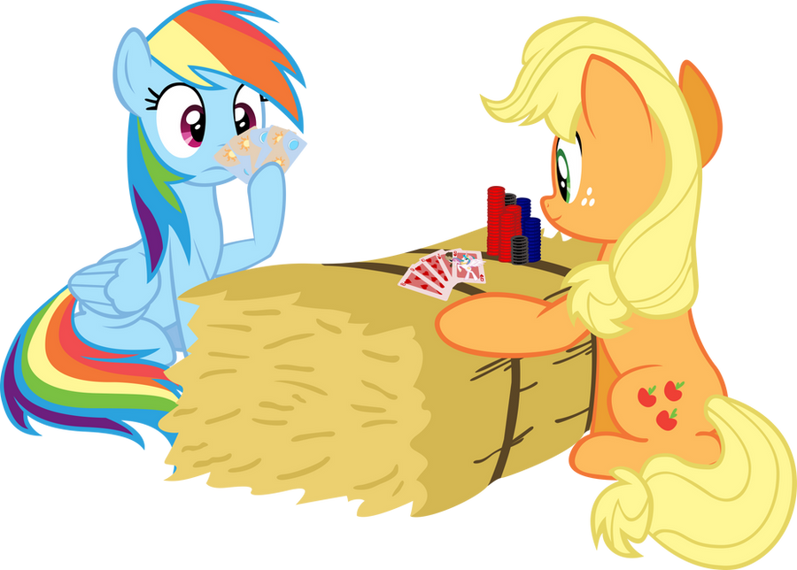 Applejack and Rainbow Dash playing a video game - YouTube
