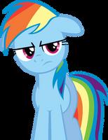 Rainbow Dash's reaction when.. by RichHap
