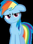 Rainbow Dash's reaction when..