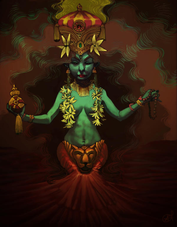 HINDU PRINCESS by =Vegemoon on deviantART