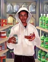 Trayvon Martin by andreamontano