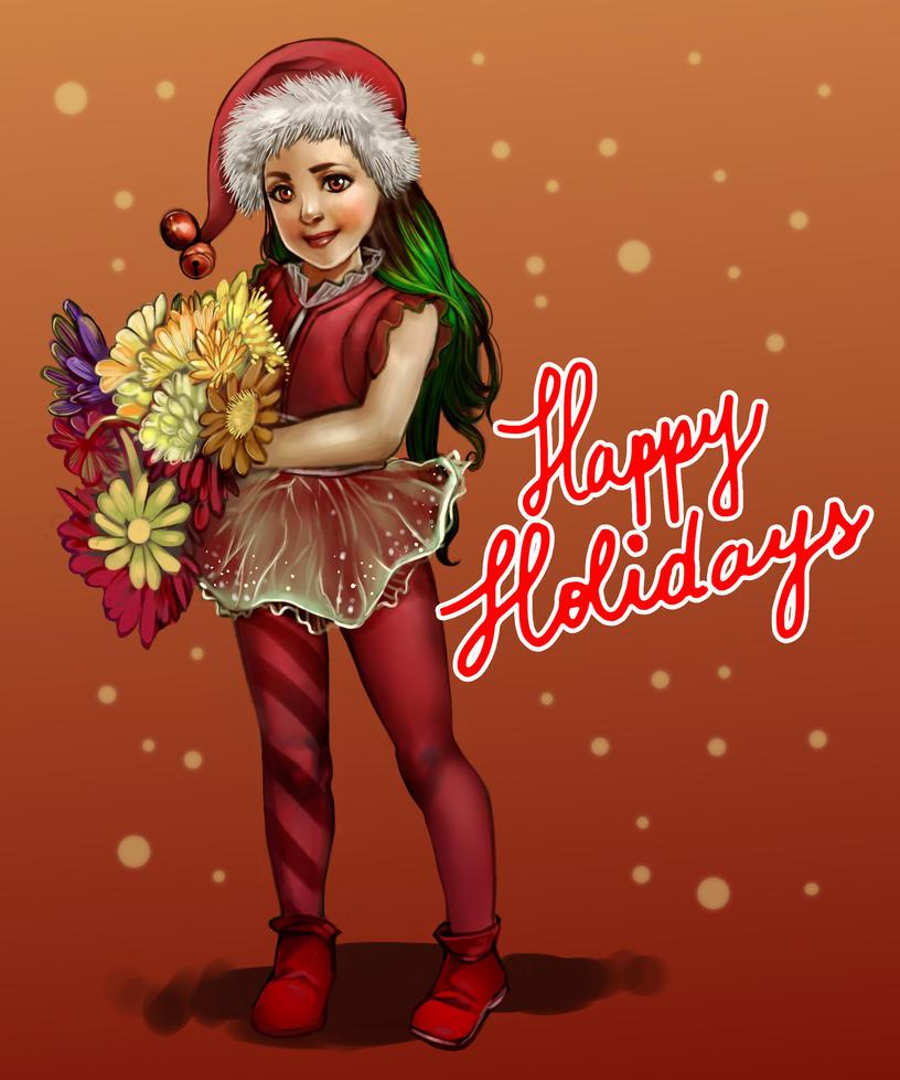 Happy Holidays! by andreamontano