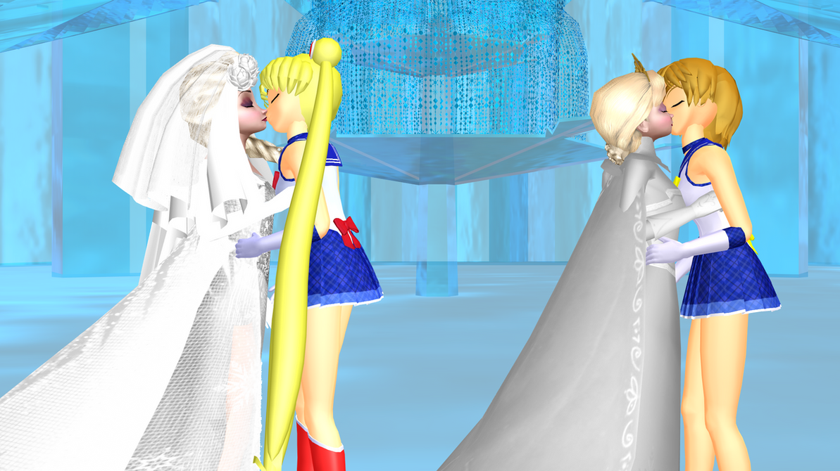 Outstanding Sailor Moon And Tuxedo Mask Wedding Episode Gallery ...