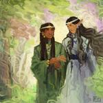 Estel and Undomiel
