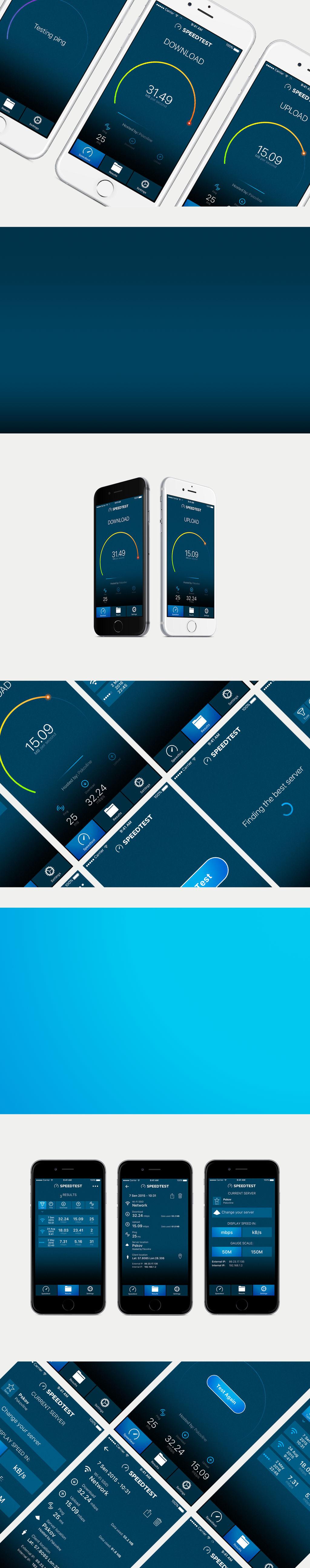 Speedtest - iOS