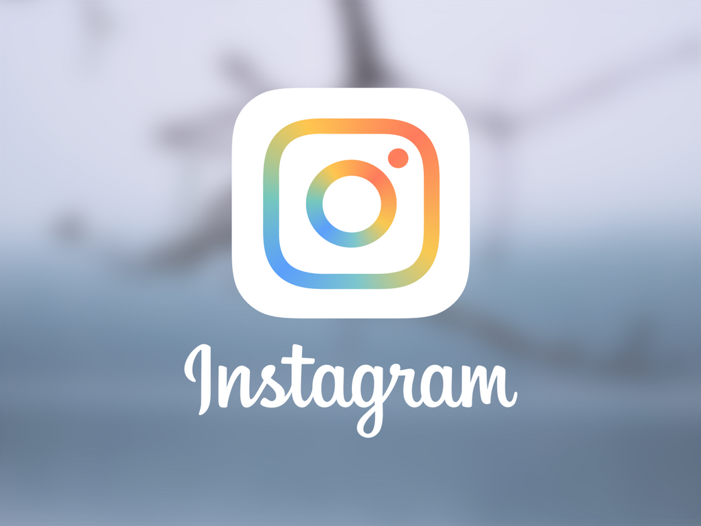 Redesign of a new Instagram icon