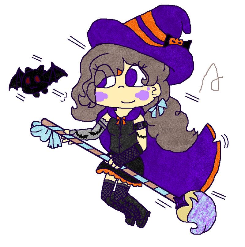 Elize the witch by Angellazuli