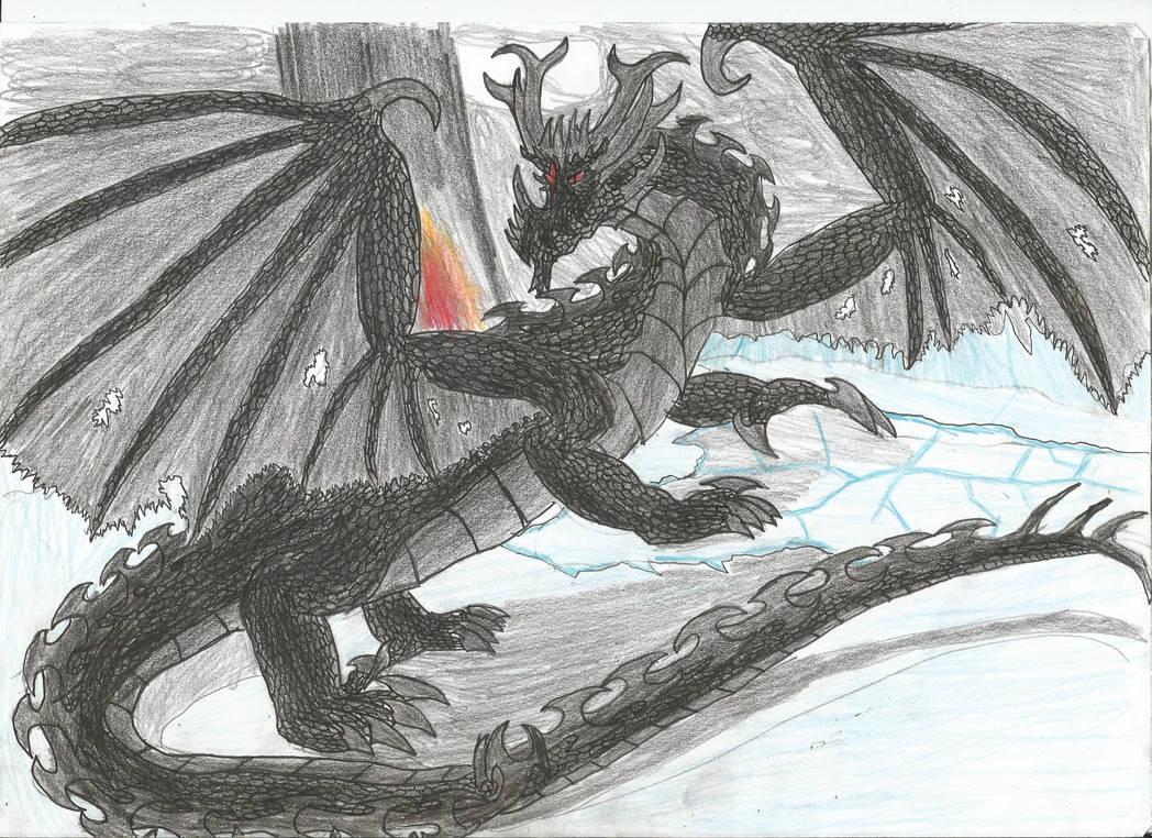 nidhogg dragon norse - 1048×762