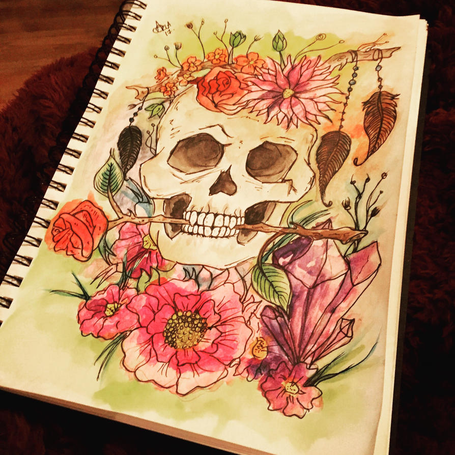Death can be beautiful  by norler
