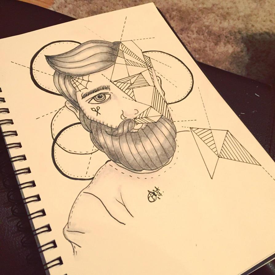 Geometric man by norler