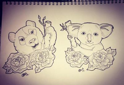 Bear love  by norler