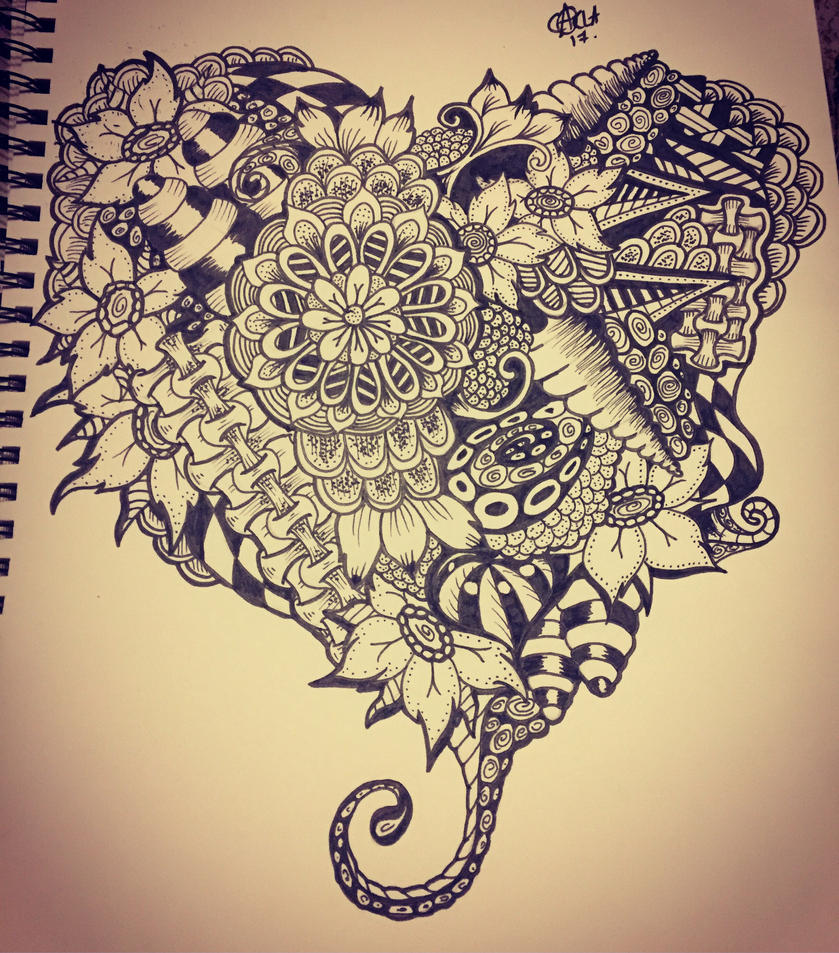Doodle love by norler