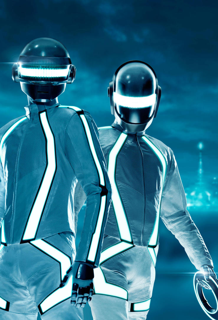 Daft Punk Duo Tron Legacy Wallpapers 59 Wallpapers